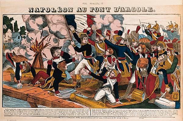 Napoléon au pont d Arcole