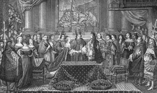 mariage de louis xiv et de marie