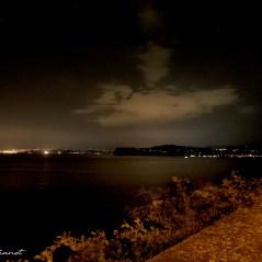 Nocturne depuis le chemin côtier