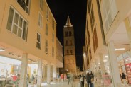 Rue principale nocturne, Zadar
