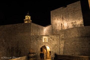 Porte et enceinte, Dubrovnik