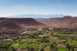 vue du sommet - Aït Ben Haddou