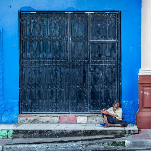 POTD: Siesta in Blue