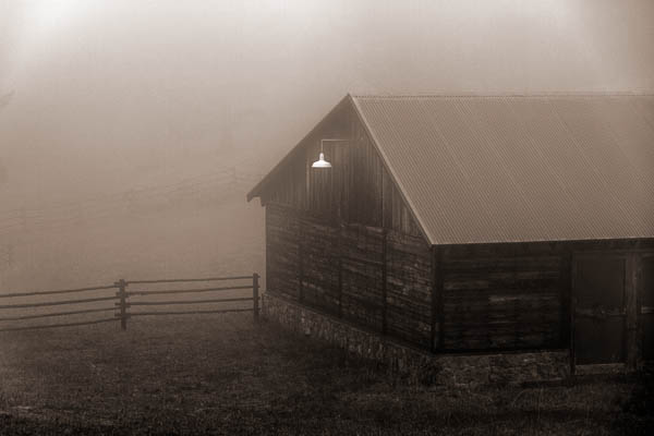 POTD: Barn Light