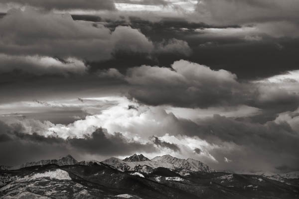 POTD: Mountains of Clouds