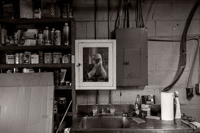 POTD: Self Portrait With Paper Towels