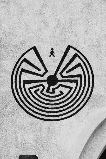 POTD: Man in the Maze