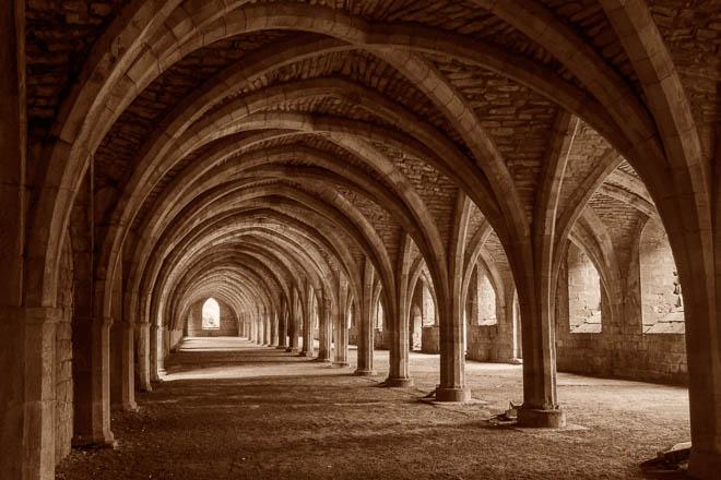 POTD: Fountains Abbey