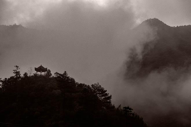 POTD: Pagoda in Mist