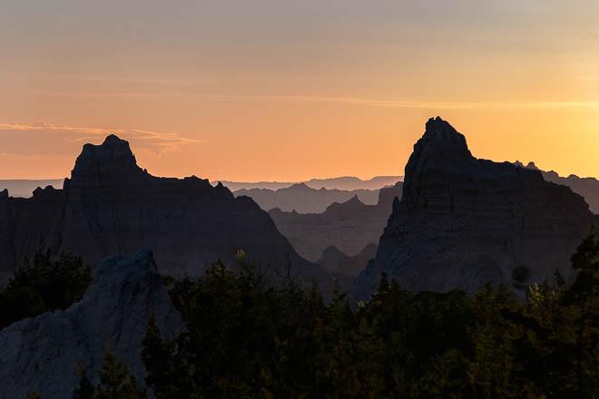POTD: Badlands Sunset