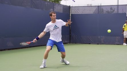 The Open Stance Forehand