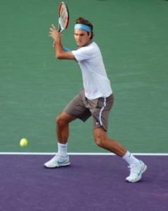 Open Stance Forehand