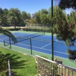 Private Tennis Court In Riverside, California