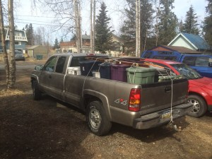 One of the first load ready to head out to Chugiak!