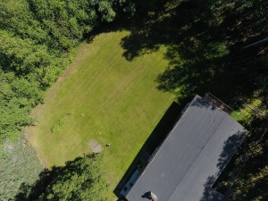 Front yard / house from above.