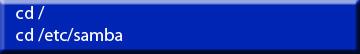 Command Line Find smb.conf file