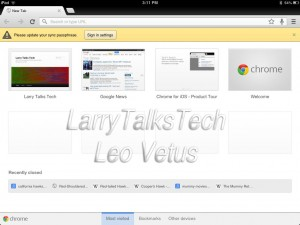 Chrome-300x225 Best Usable iPad Apps for 2012 iPad Product Reviews
