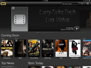 IMDB-300x225 Best Usable iPad Apps for 2012 iPad Product Reviews