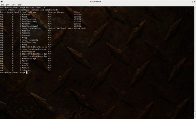 nstat Six Free Linux Network Monitoring Tools For Your Home Network How To Linux Tips