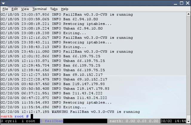 Fail2ban-adj Port Forwarding and Small Network Security Commentary How To OS X Security Tips