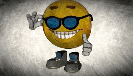 Smiley in silk -larrytalkstech.com
