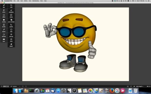 Pixlr_Smiley2-1024x640 Pixlr Image Editor Review Digital Photgraphy & Artwork iPad OS X Product Reviews
