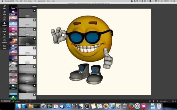 Pixlr_Smiley_5-1024x640 Pixlr Image Editor Review Digital Photgraphy & Artwork iPad OS X Product Reviews
