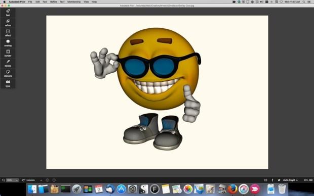 Pixlr_smiley_1-1024x640 Pixlr Image Editor Review Digital Photgraphy & Artwork iPad OS X Product Reviews