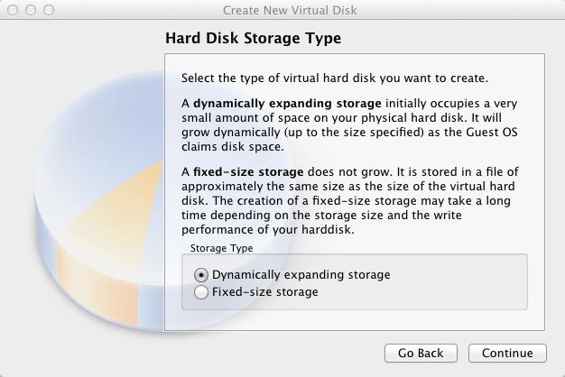 Virtual Box Select Storage Type | larrytalkstech.com