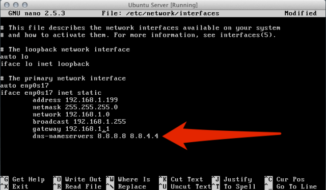 Name Resolve thru /etc/network/interfaces | larrytalkstech.com