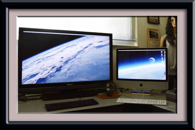 iMac with HDTV as Monitor | larrytalkstech.com