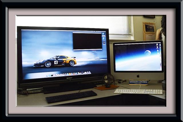 Sharp HDTV as a monitor | larrytalkstech.com