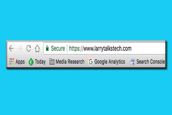 LarryTalksTech with HTTPS