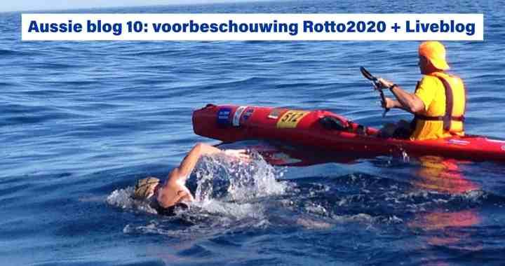 Oversteek Rotto2020 Rottnest Channel Swim Lars Bottelier