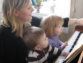 Anne-Karine, Jesper og Marta