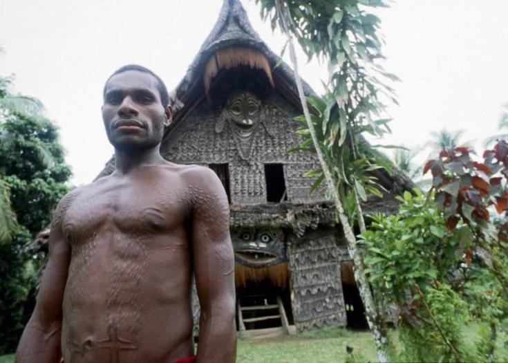 Making Boys Into Men Kaningara Skin Cutting Ritual