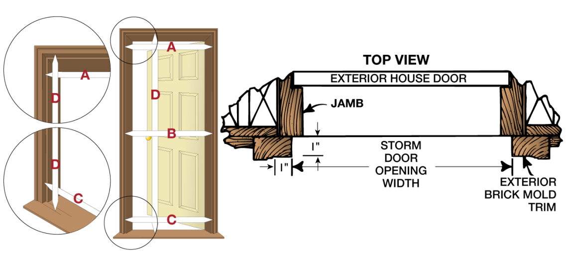 Image Result For How To Measure For Replacement Windows In Brick