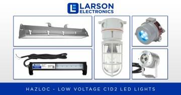 Low Voltage Class I Division 2 LEDs for Hazardous Locations