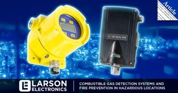 Sistemas de detección de gases combustibles y prevención de incendios en lugares peligrosos