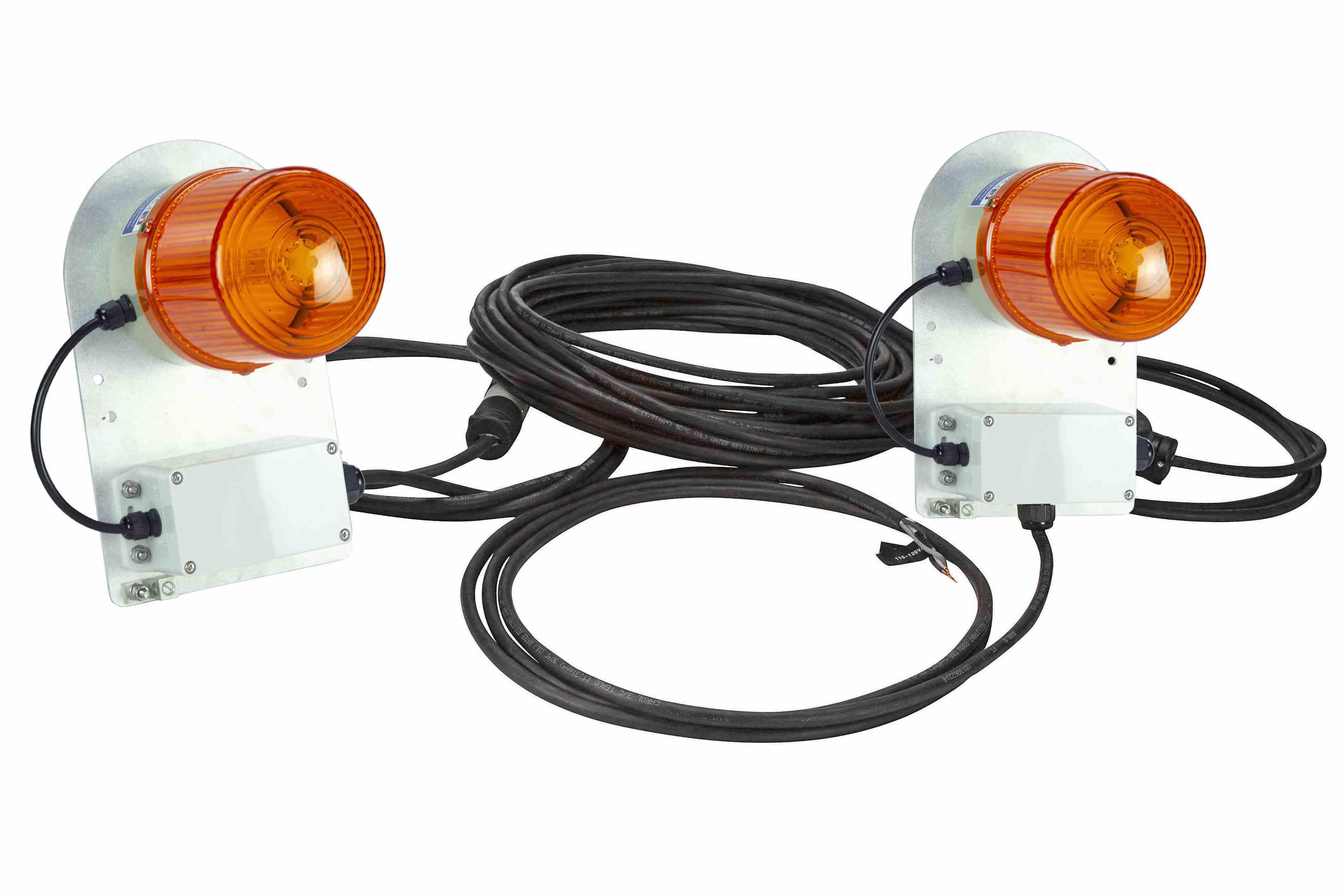 Class Ii Dual Strobe Warning Light