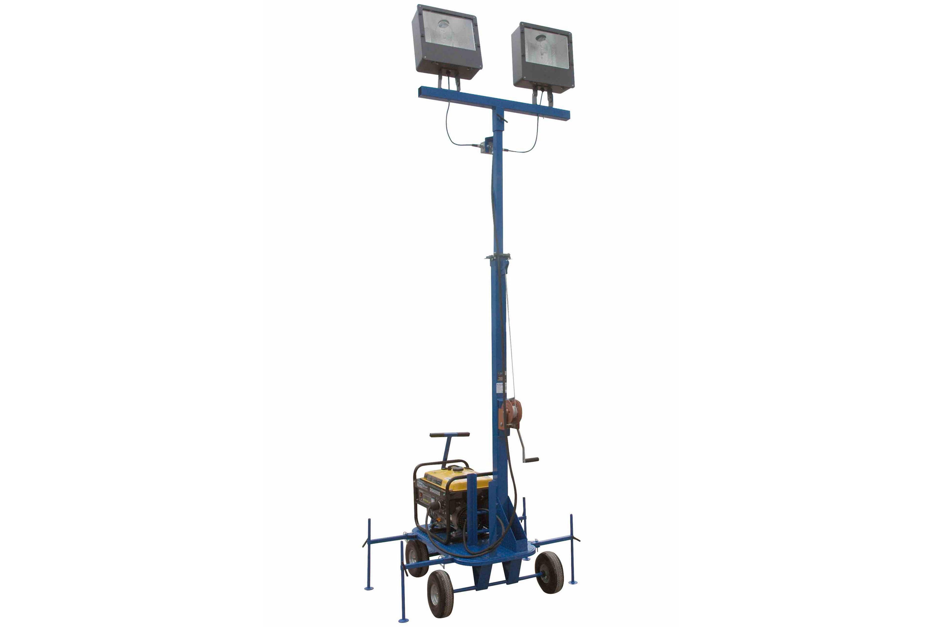 Mini Light Tower With Va Generator