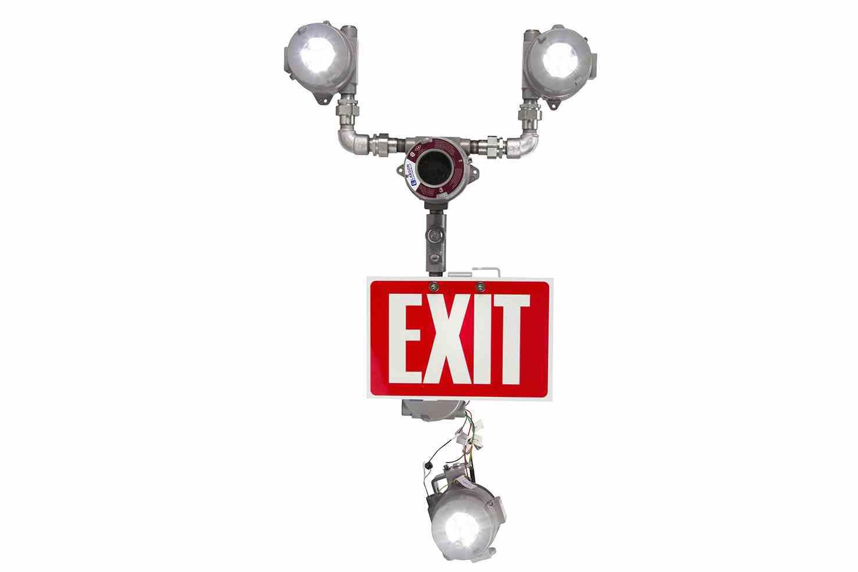 Explosion Proof Bug Eye Emergency Led Exit Fixture