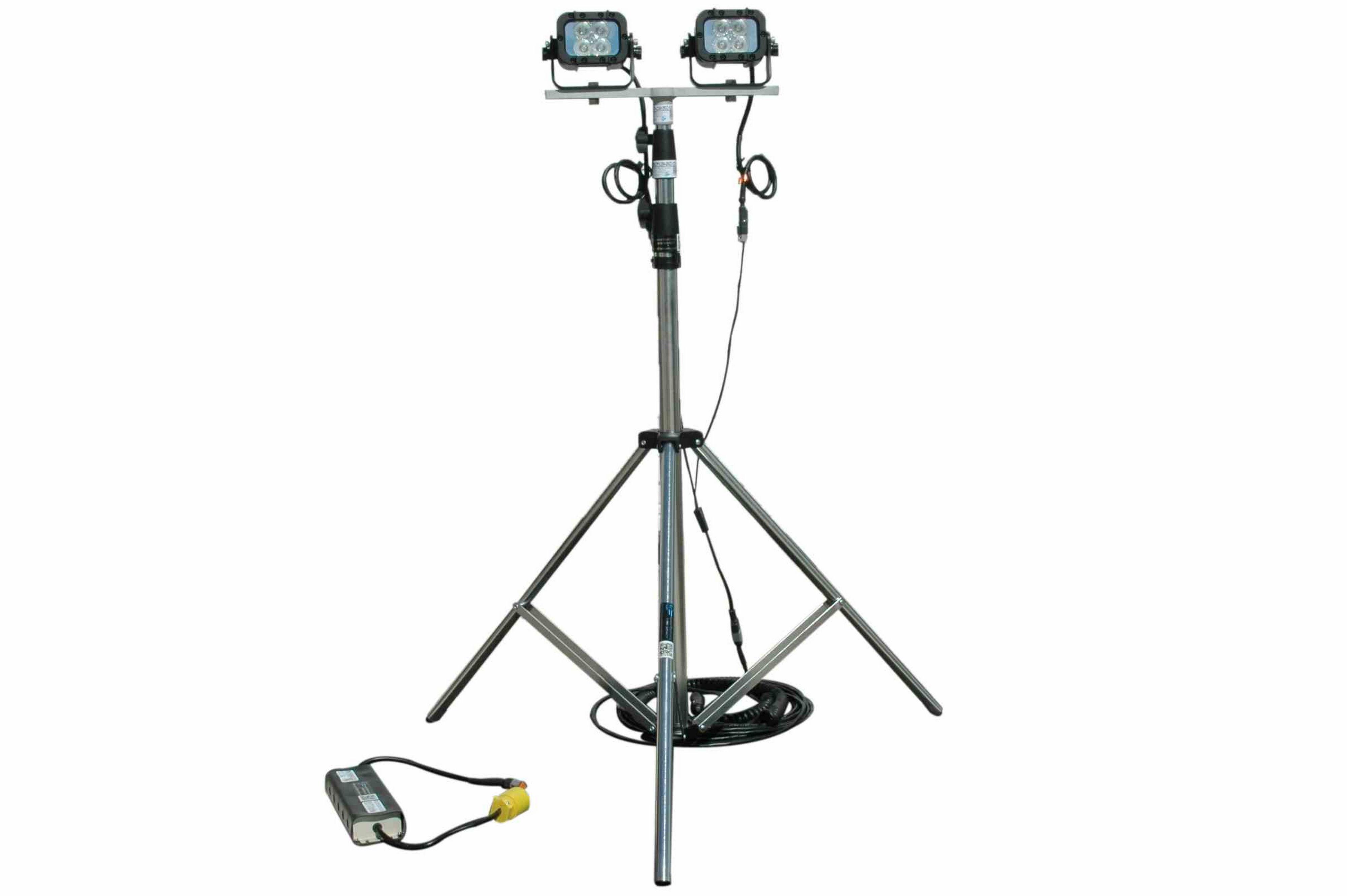 24 Watt Portable Led Telescoping Light Tower