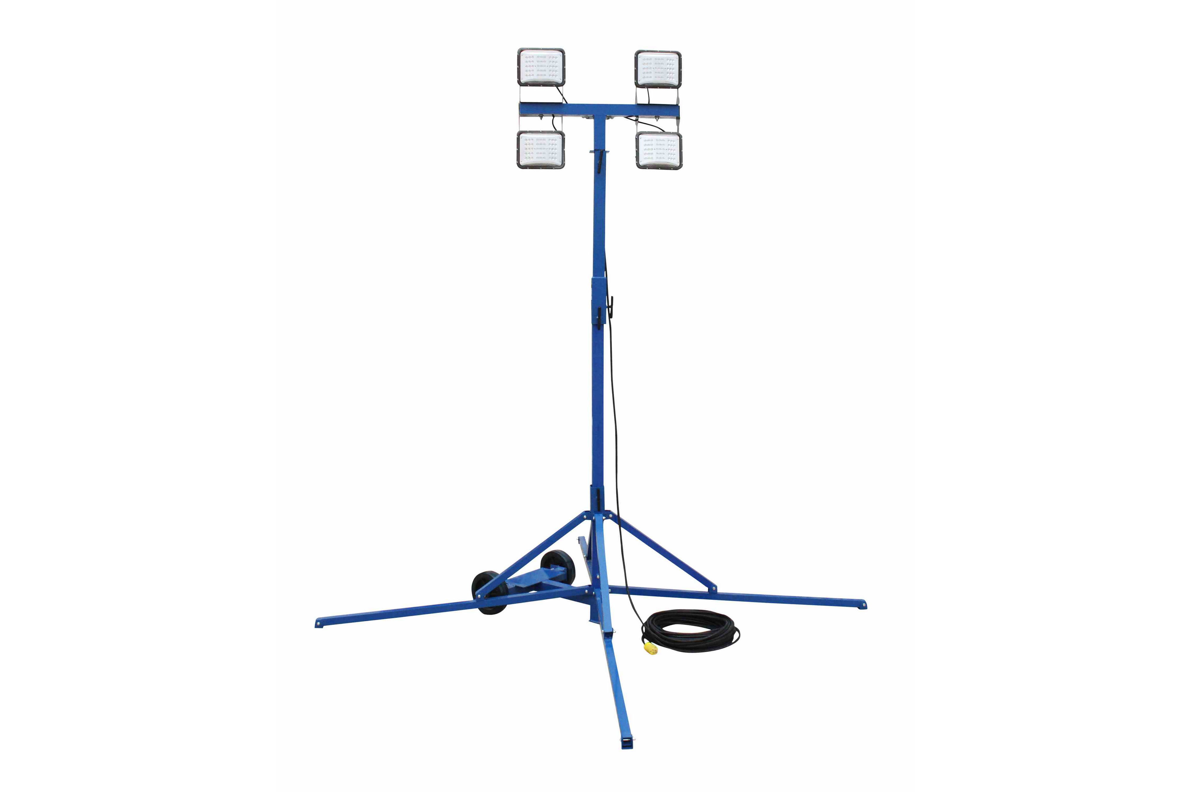 240 Watt Led Work Area Quadpod Light Fixture
