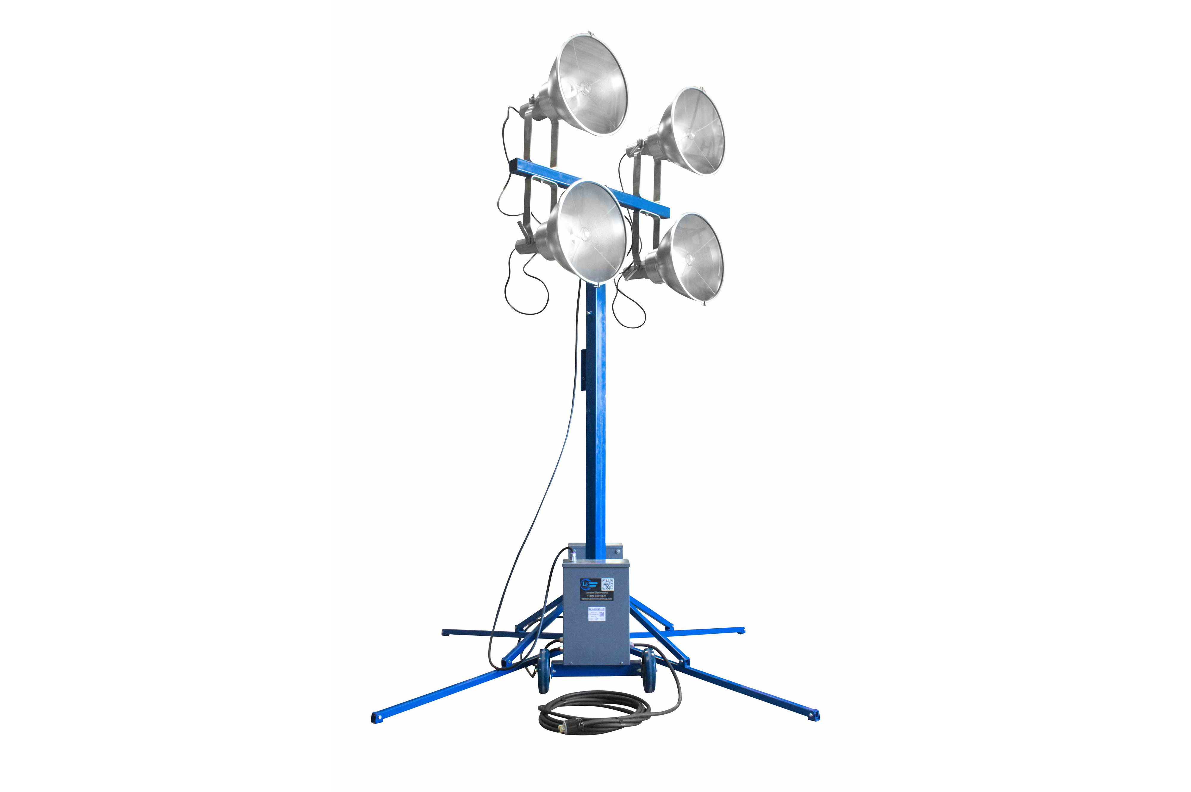Portable 7 14 Light Tower