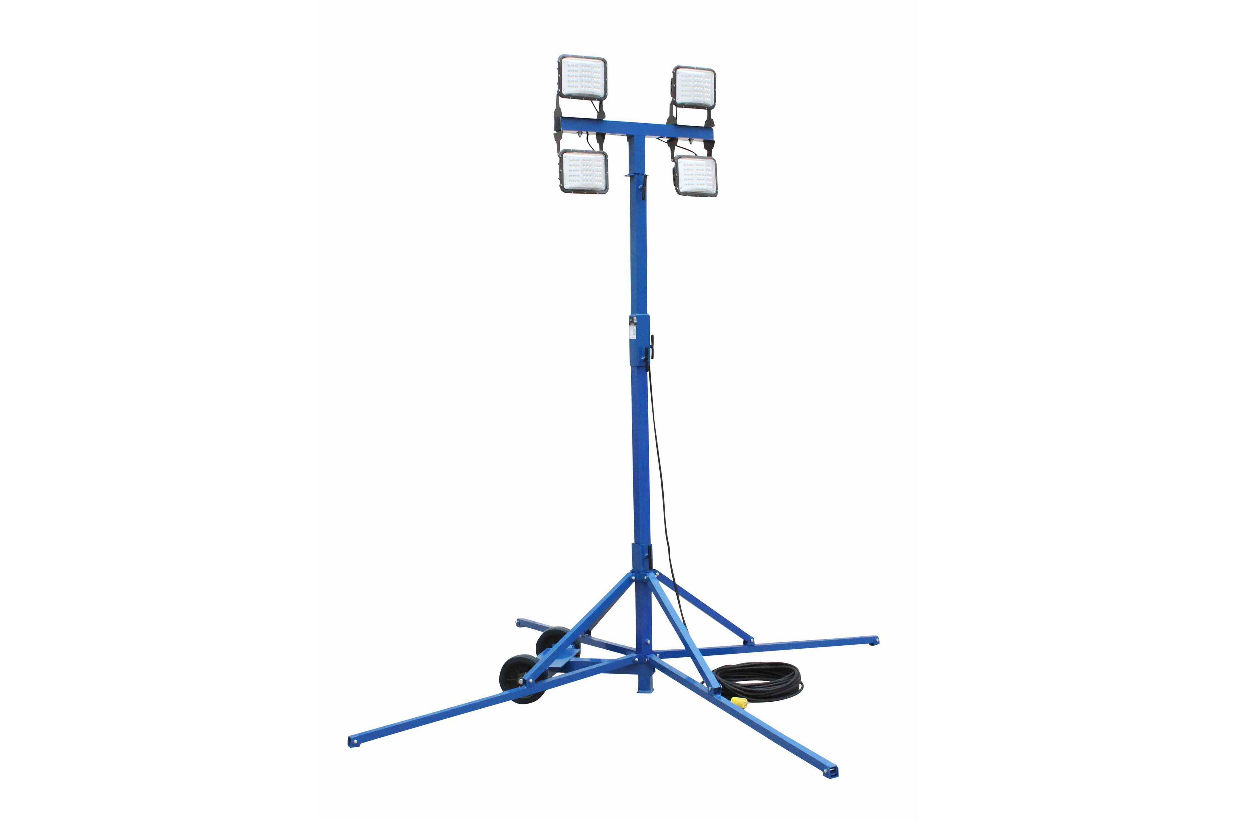 240 Watt Led Work Area Quadpod Light Fixture