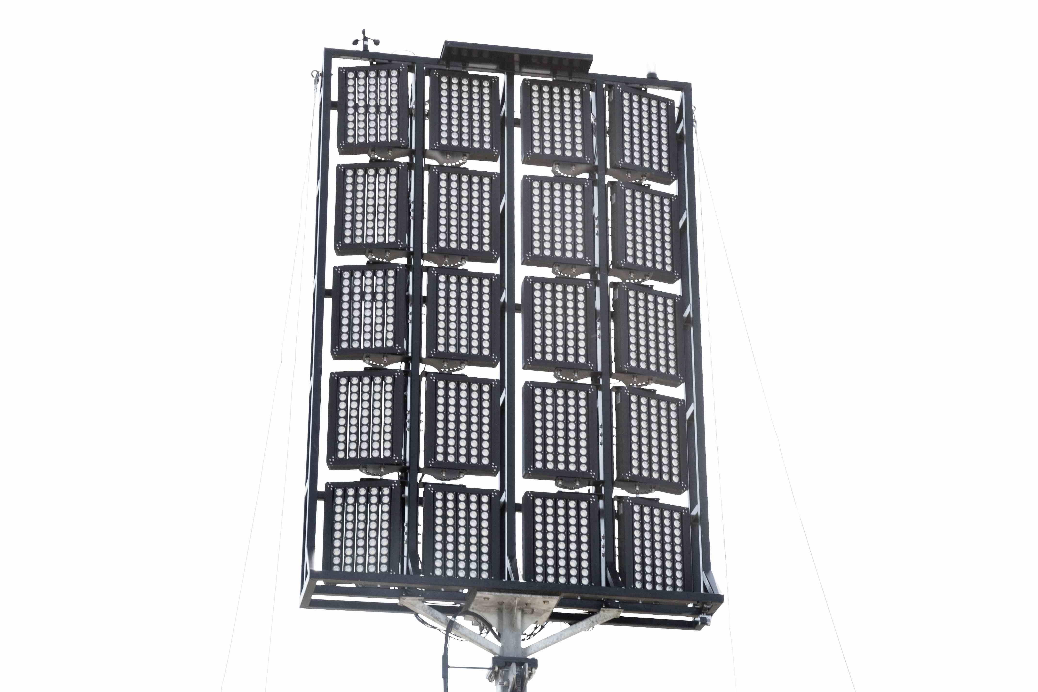 112 Hydraulic Megatower Light Plant