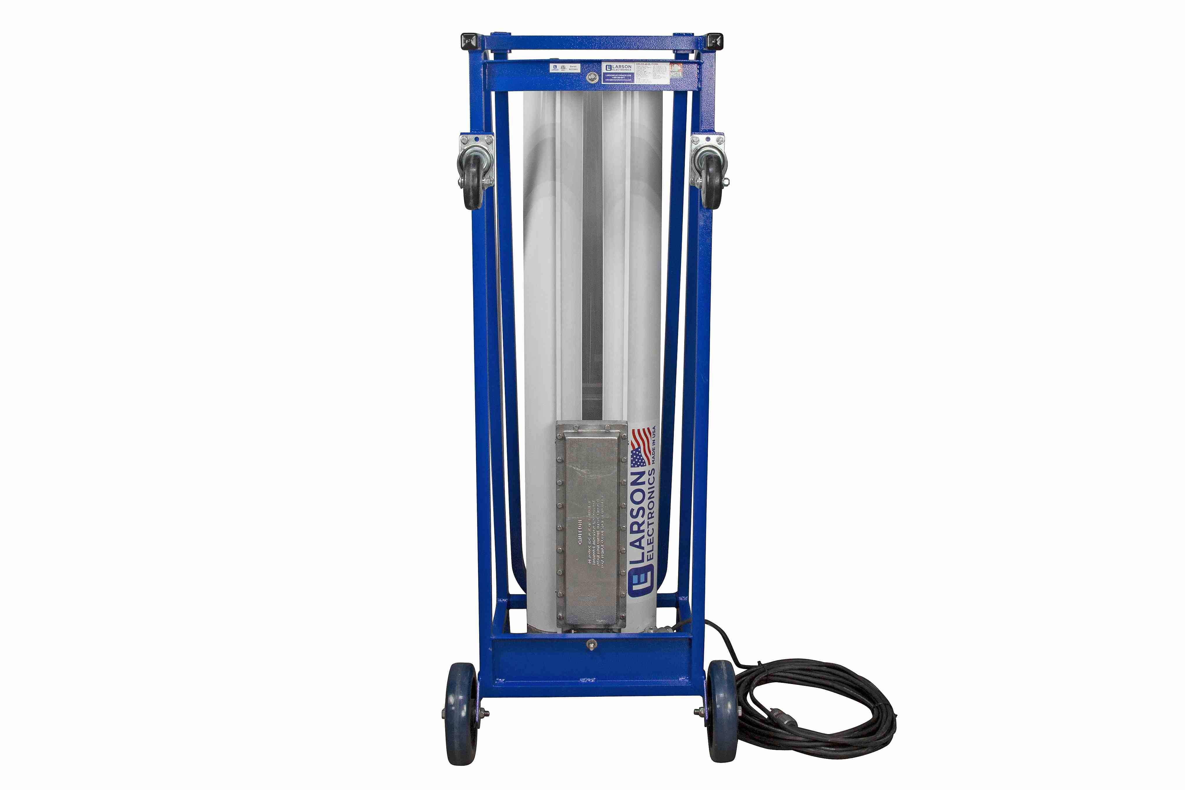 Explosion Proof Paint Spray Booth Light On Dolly Cart With