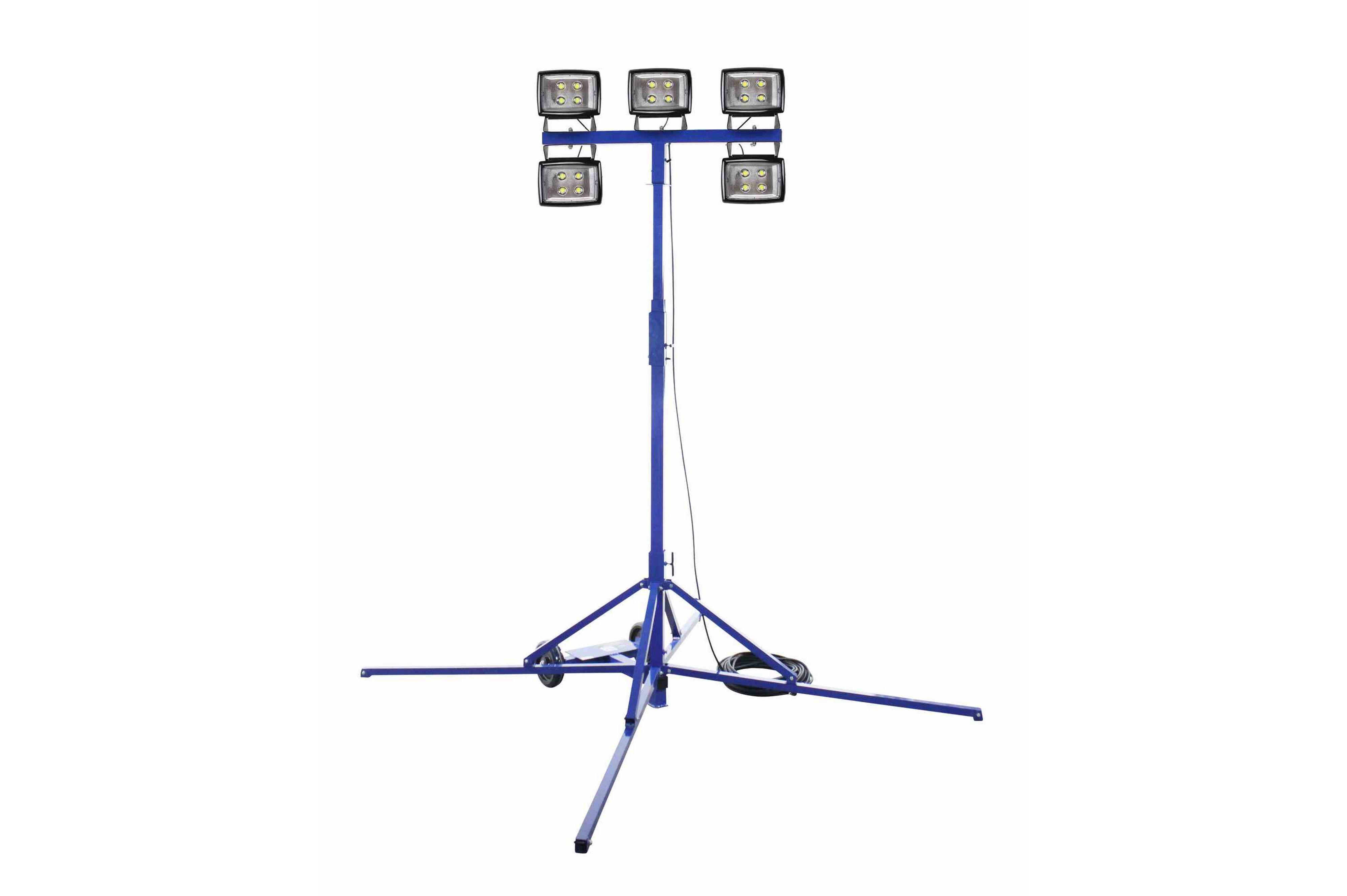 250 Watt Led Work Area Quadpod Light Fixture
