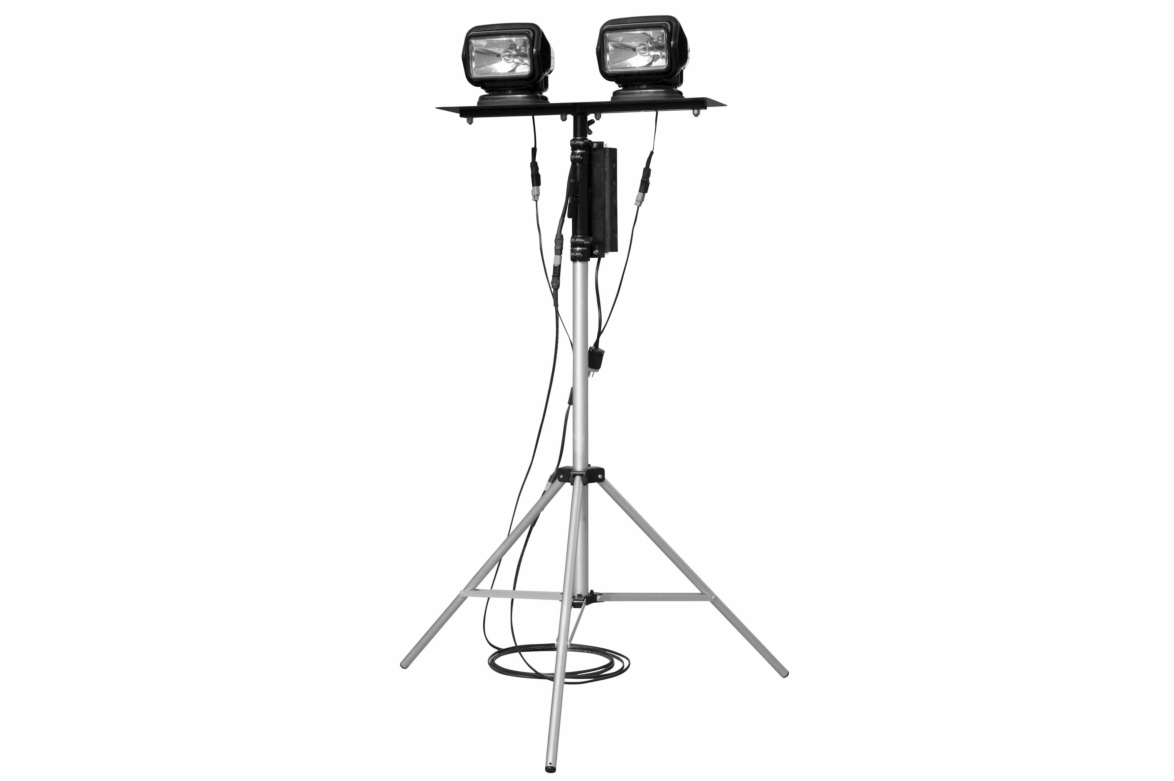 Portable Telescoping Light Tower